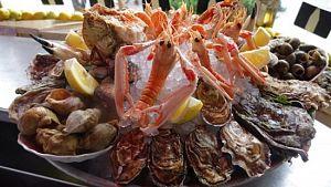 Fruits de mer restaurant Restaurant Le Suffren