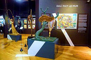 Экскпозиция в музее Дали на Монмартре