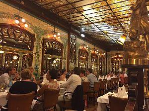 Ресторан Монпарнас 1900 зал