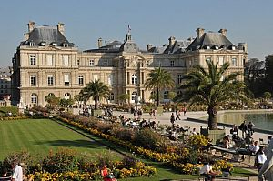 Люксембургский сад и Люксембургский дворец