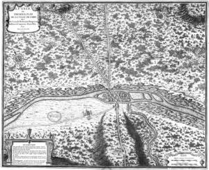 Карта Лютеции